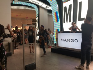 Mango during Vogue's Fashion Night Out (VFNO). A night dedicated to shopping and celebration of fashion.